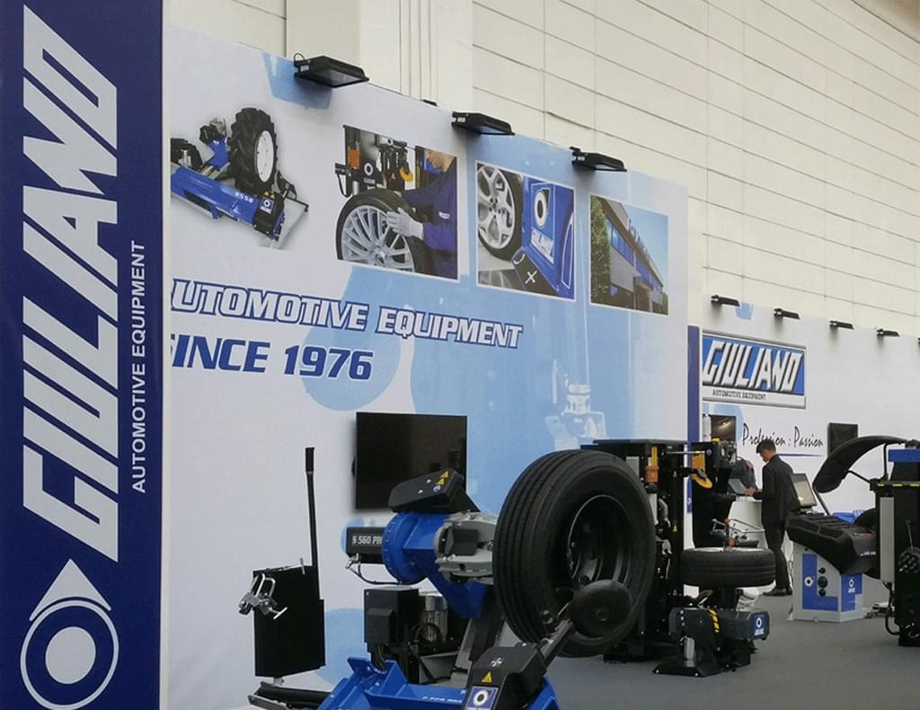 Giuliano Industrial Tyre Changers Wheel Balancers And Wheel Alignment