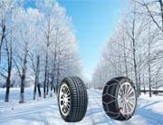 Winter Tires vs Snow Chains