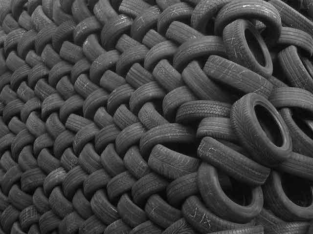 Environmental Contribution for screpped tires