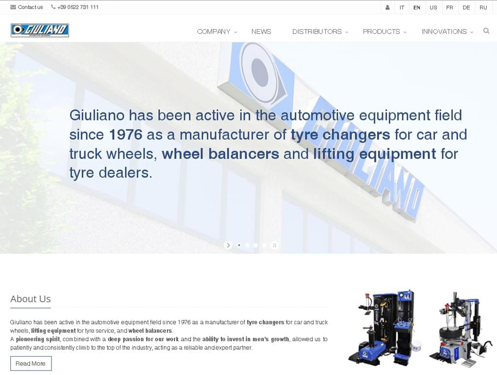 Giuliano website becomes responsive!