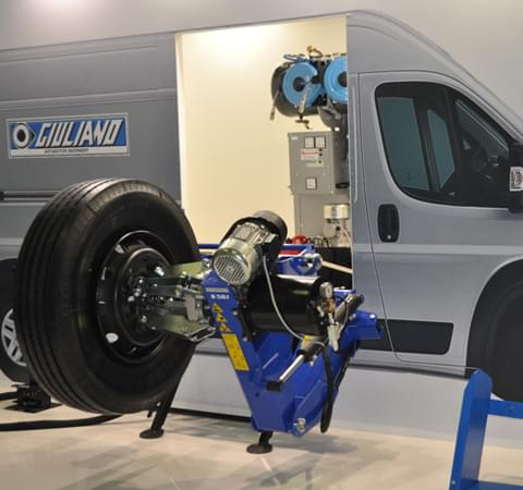 S 561 tire changer