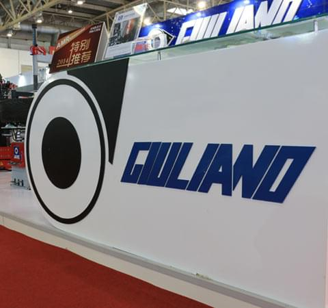 Giuliano stand at the Beijing show 2014